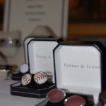 James Free Jewelers sports cufflinks (Tokens & Icons, $165)