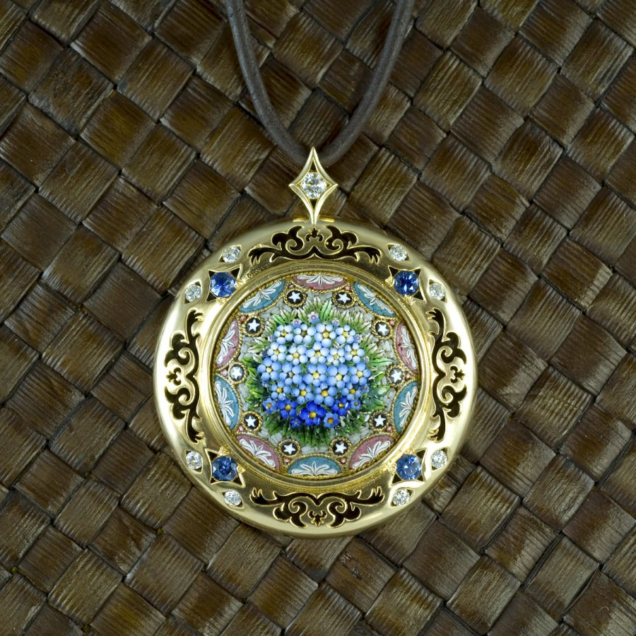 Pendant from Krombholz Jewelers to be auctioned off at Retrofittings tomorrow