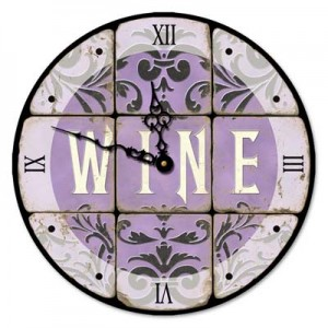 Wine Clock from Nest