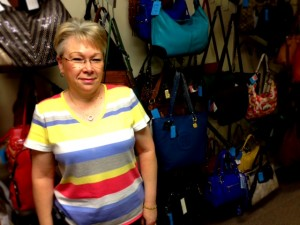 Brenda Buschle, founder of Chateau Le Beau and Designer Handbags Rescue
