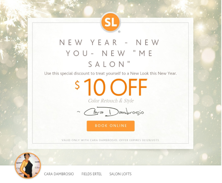 "Chic Publications Mail -...new you- new ""me salon"""