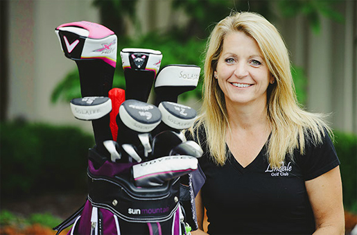 Melissa Kirkpatrick, Owner of Lindale Golf Club