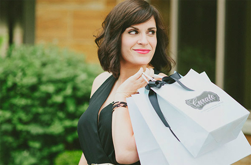Courtney PeGan, owner of Curate Boutique