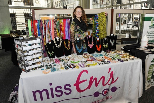 My friend, Emily, who owns Miss Em's